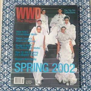 WWD Magazine Spring 2002 4th Issue